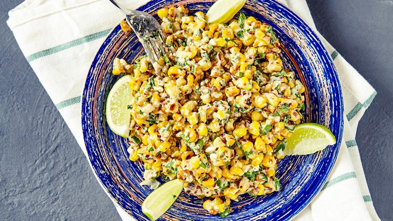 Rachael's Griddled Corn Salad