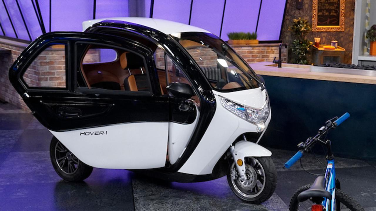 Hover 1 Electric Vehicle First Look Rachael Ray Show