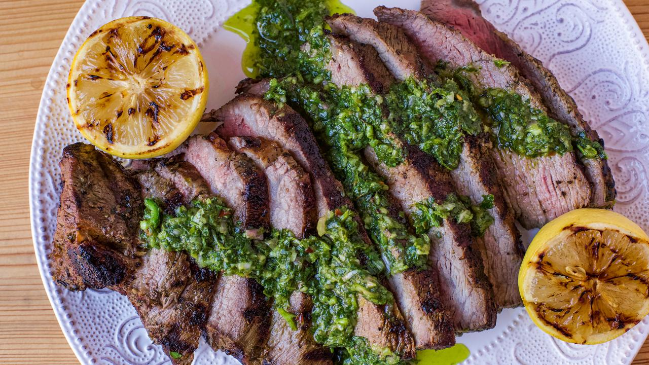 Tri-Tip Steak On The Grill (With Easy Marinade!)