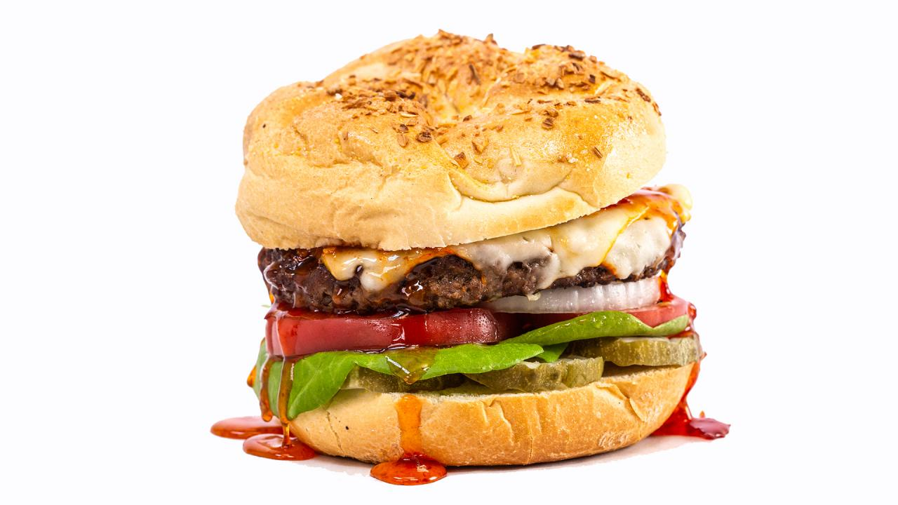 Meatless Cheeseburgers With Hot Honey Recipe
