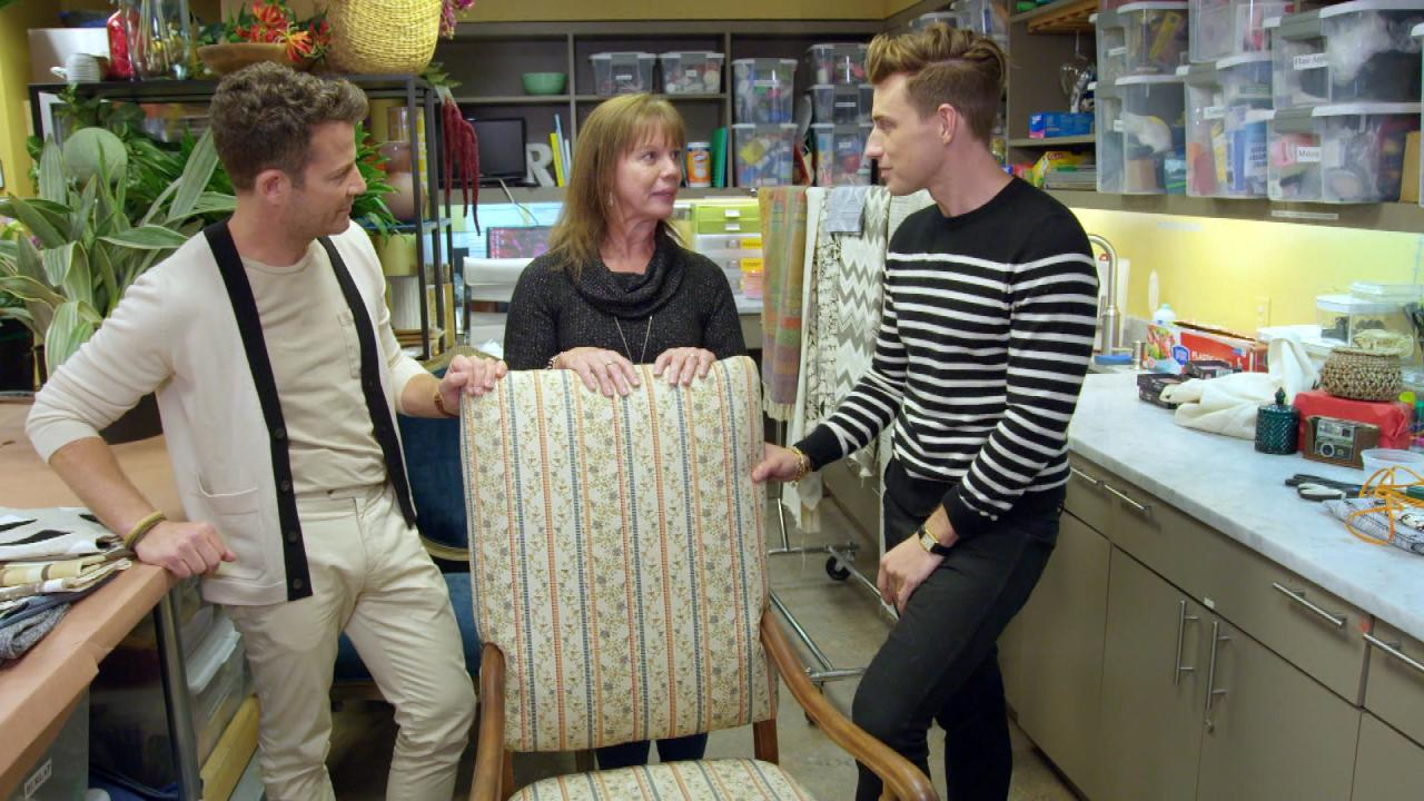 Backstage Exclusive: Nate Berkus & Jeremiah Brent Give Viewers Personal Design Advice