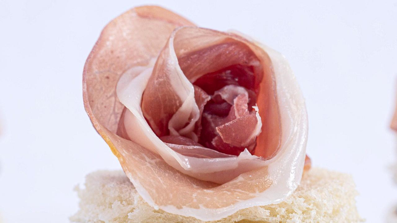 How To Make Prosciutto Roses