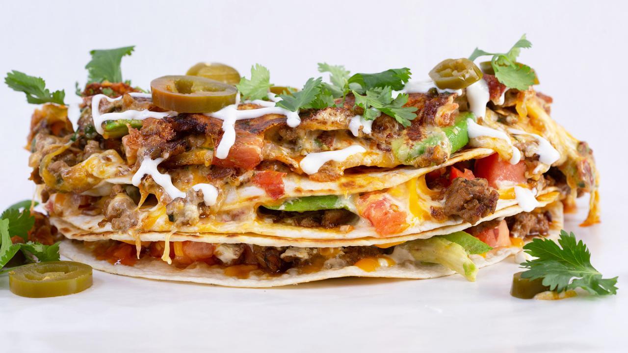 California Club Quesadillas With Avocado Recipe