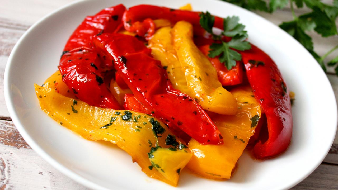 Roasted Peppers Recipe Rachael Ray Show