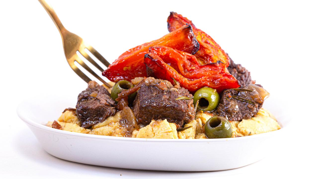 Sicilian Beef Stew Recipe