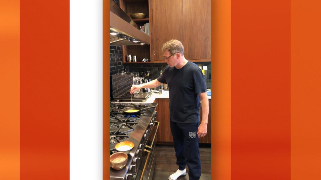 Celeb Home Tour: Inside Chef Bobby Flay's Kitchen