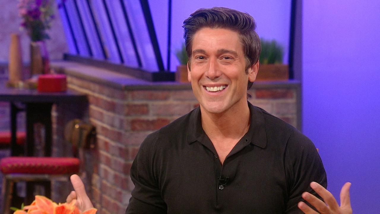 Before He Was Famous World News Tonight Anchor David Muir Interned At Channel 5 In Syracuse At