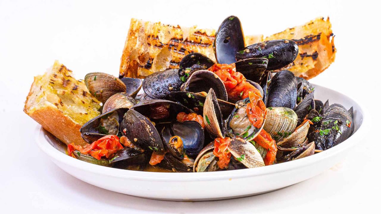 Clams and Mussels in Brodetto Recipe