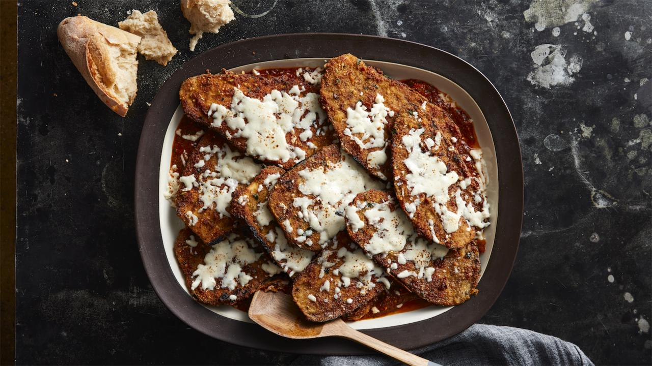 "How To Make Eggplant Parm Steaks From ""Rachael Ray 50"""