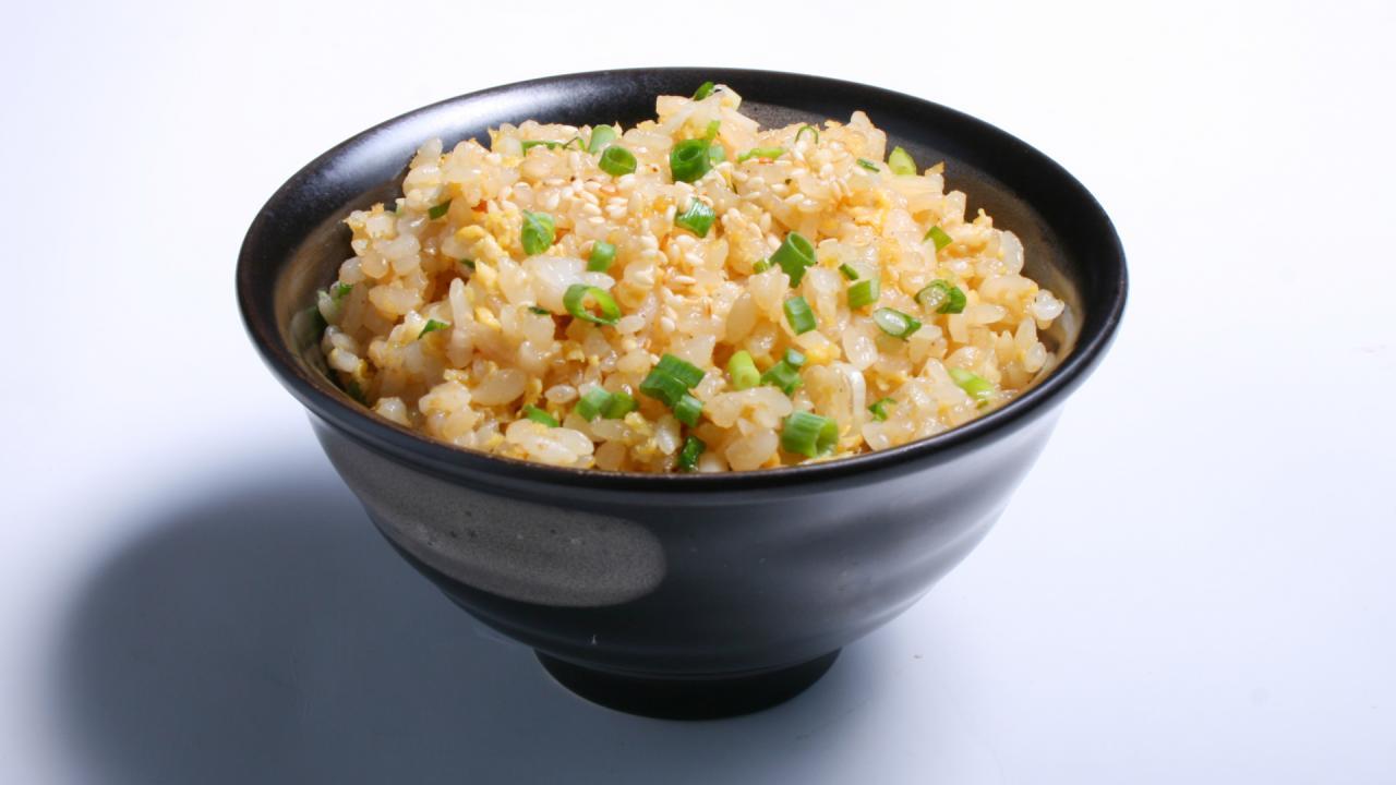 Crispy Coconut-Scallion Rice Recipe