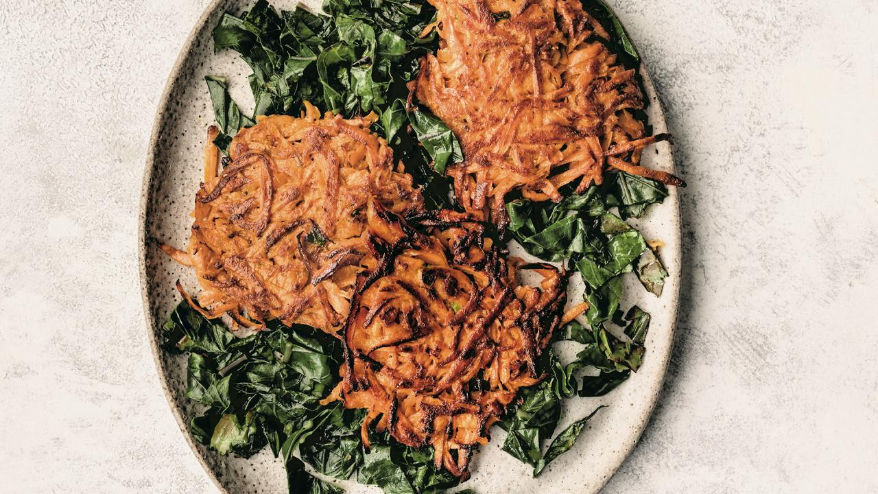 Healthy Sweet Potato Pancakes Recipe