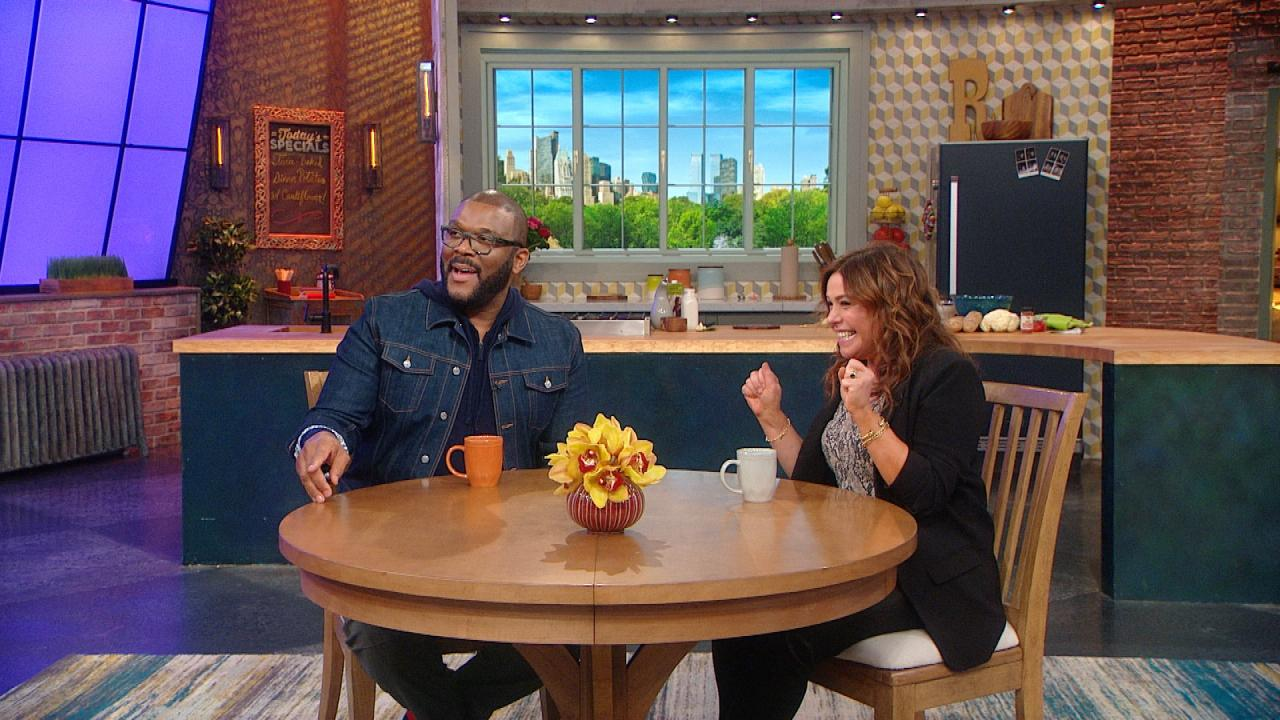Tyler Perry Says Oprah Is The Best Famous Houseguest He's Ever Had