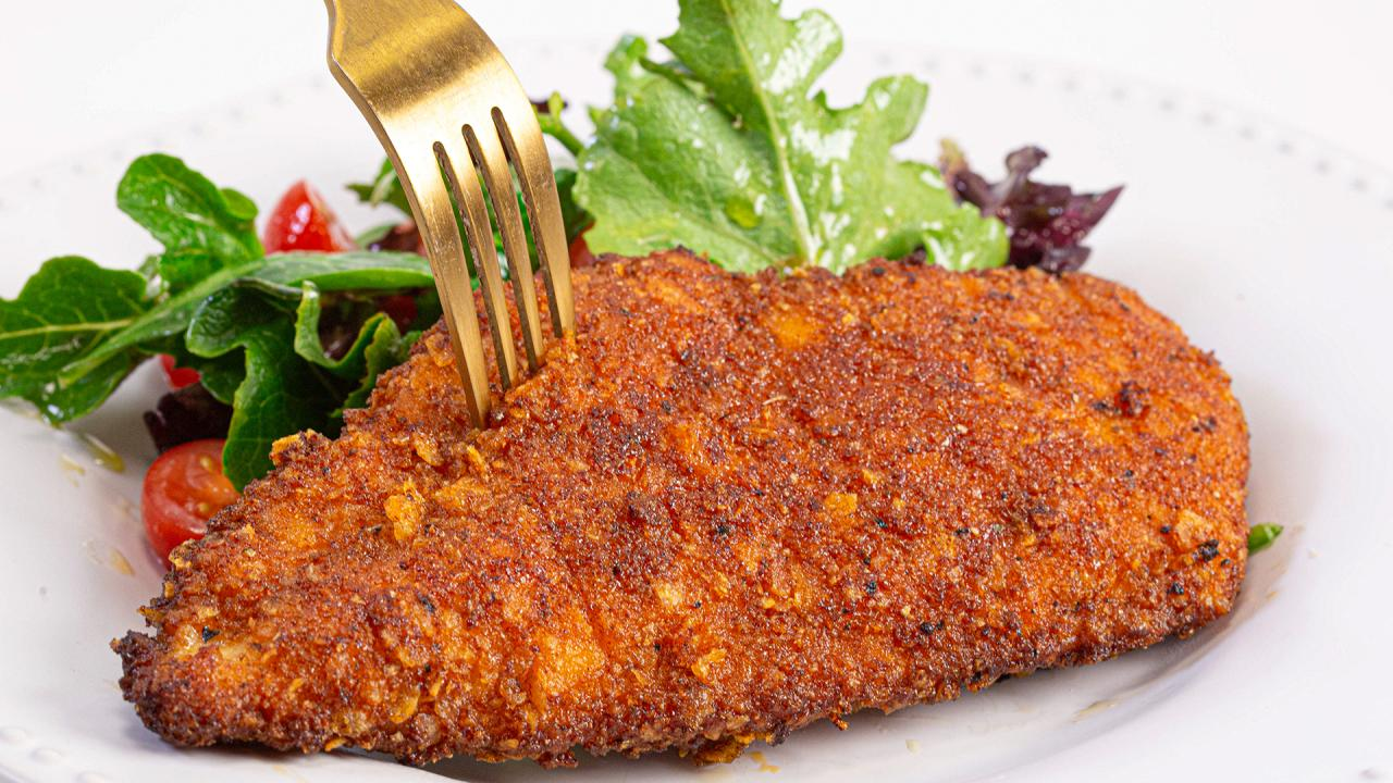 This Potato Chip-Crusted Fried Chicken Is A Gift
