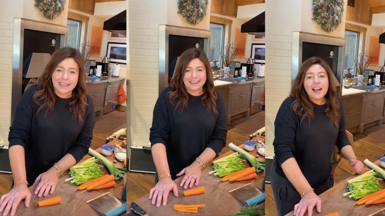 Rach Makes Chicken Pot Pie In Home Kitchen With Hubby John Behind Camera | #StayHome + Cook #WithMe