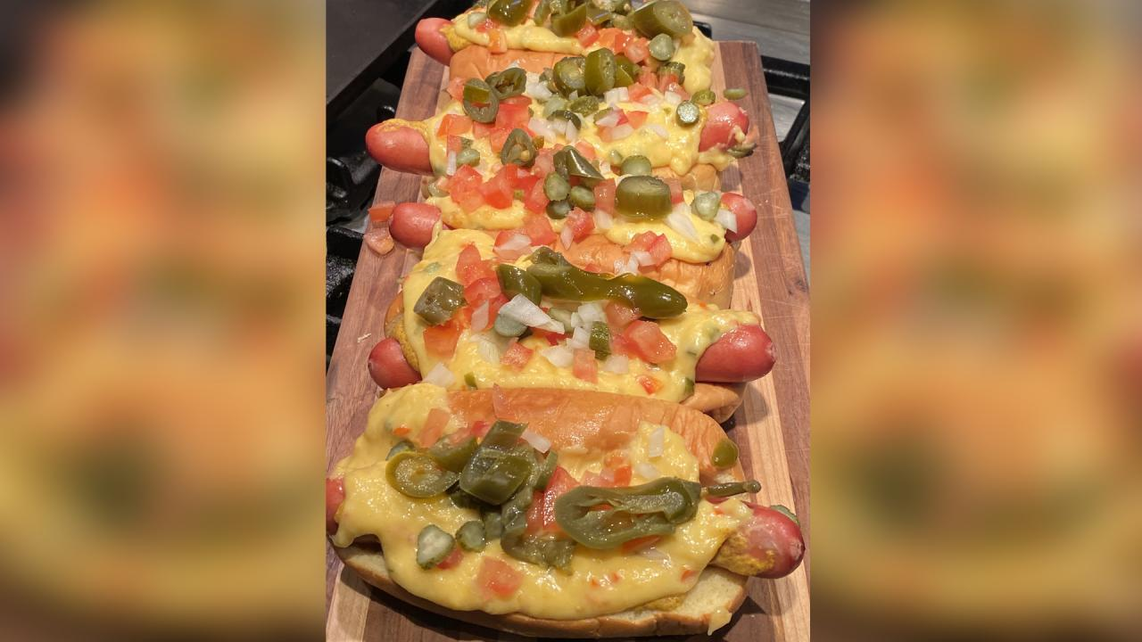 How To Make Nacho Dogs | #StayHome With Rachael