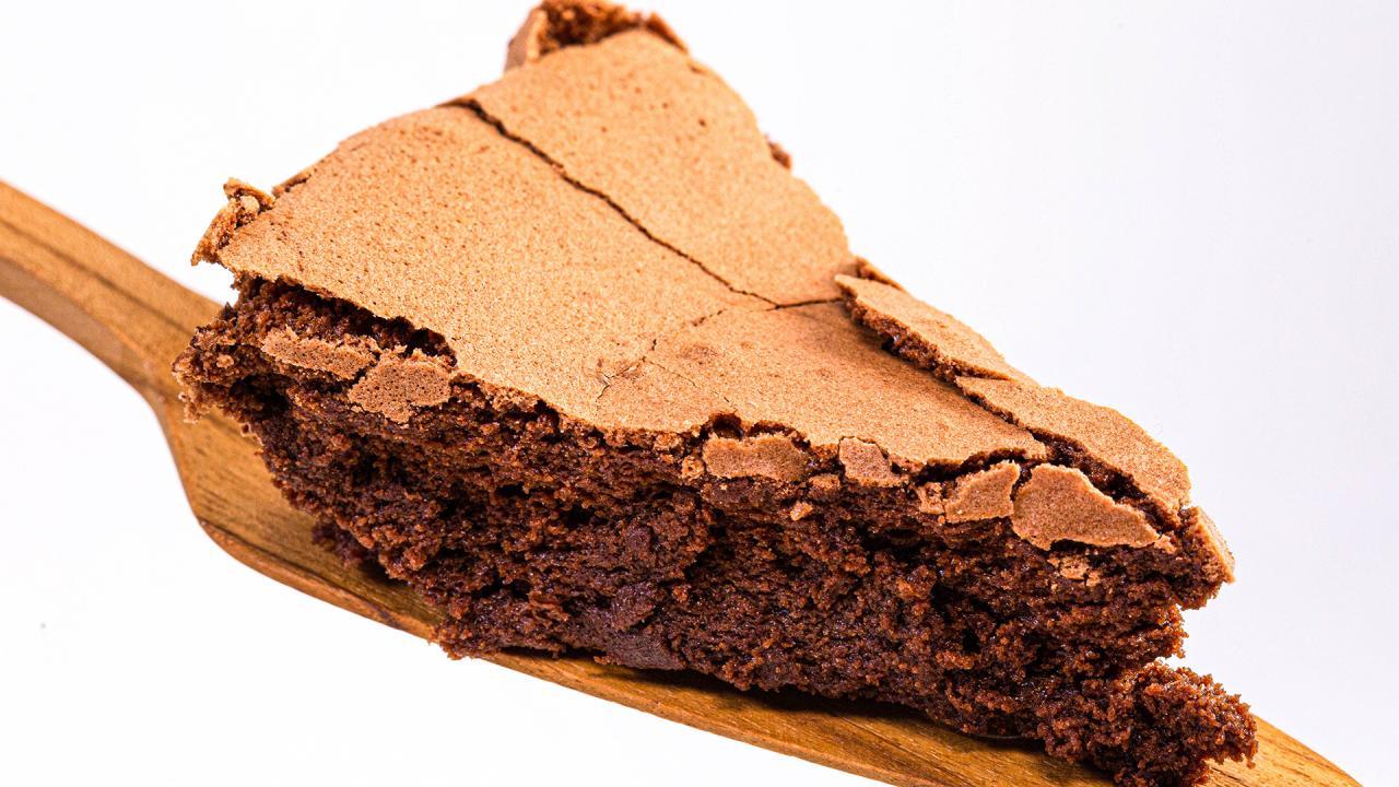 Gluten-Free Dessert: Flourless Chocolate Cake + Almond Whipped Cream