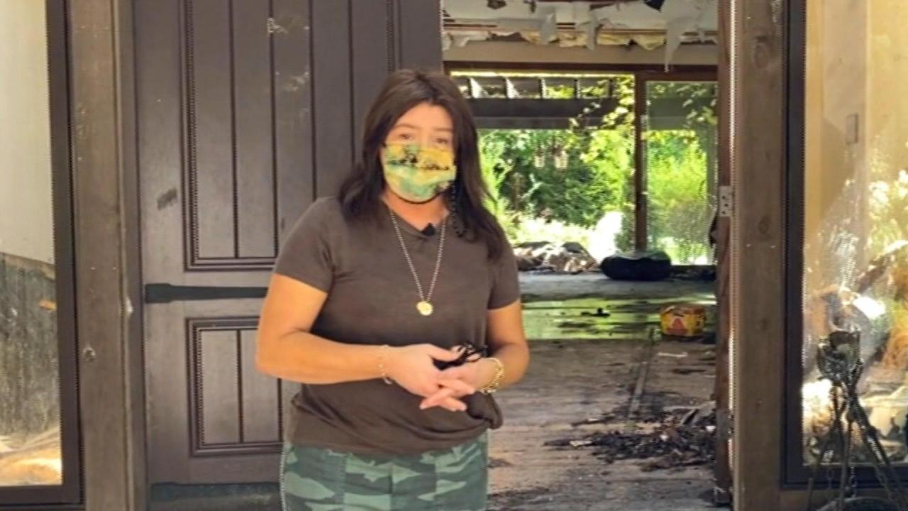 Rachael Opens Up About House Fire & Shows What's Left Of Her Home