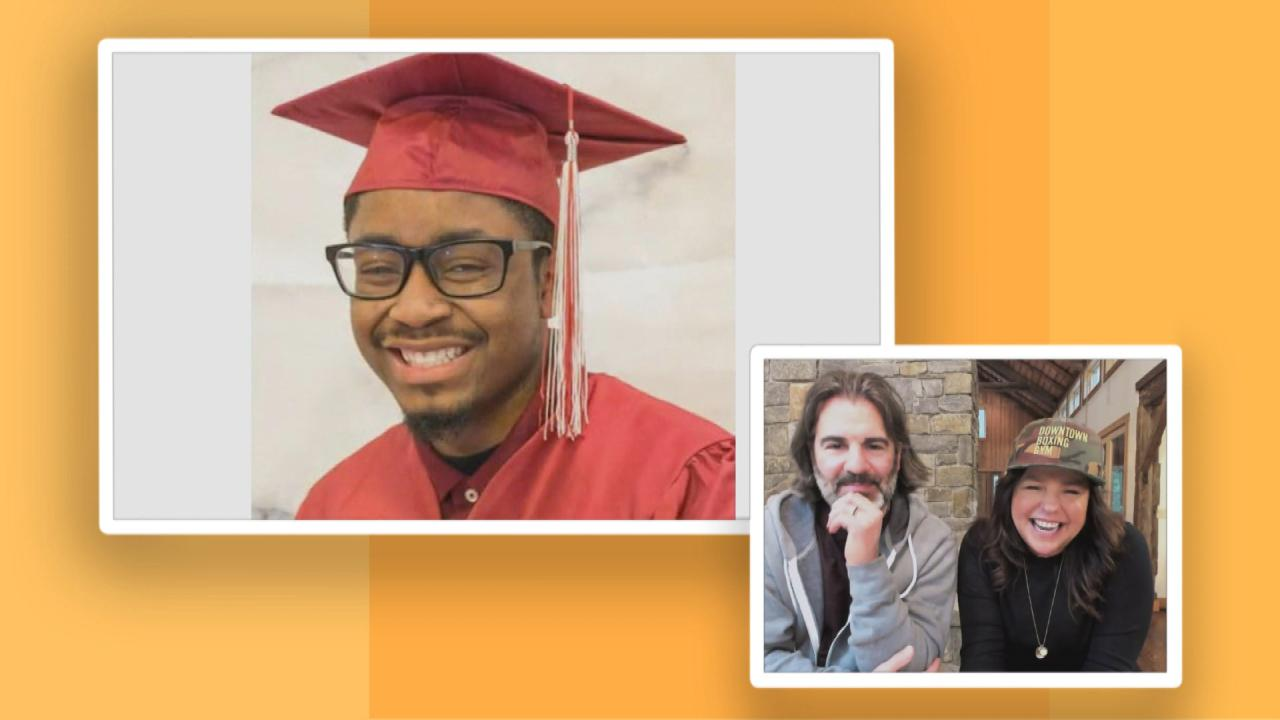 Downtown Boxing Gym Graduates Have a Special Video Message For Rach & John After Their House Fire