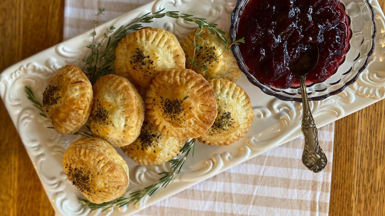 Make-Ahead Thanksgiving App: Stuffing Hand Pies