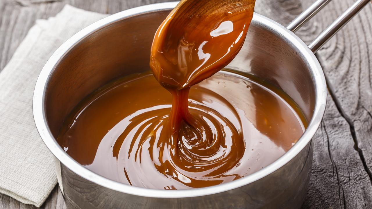 Salted Caramel Sauce Makes Everything Better