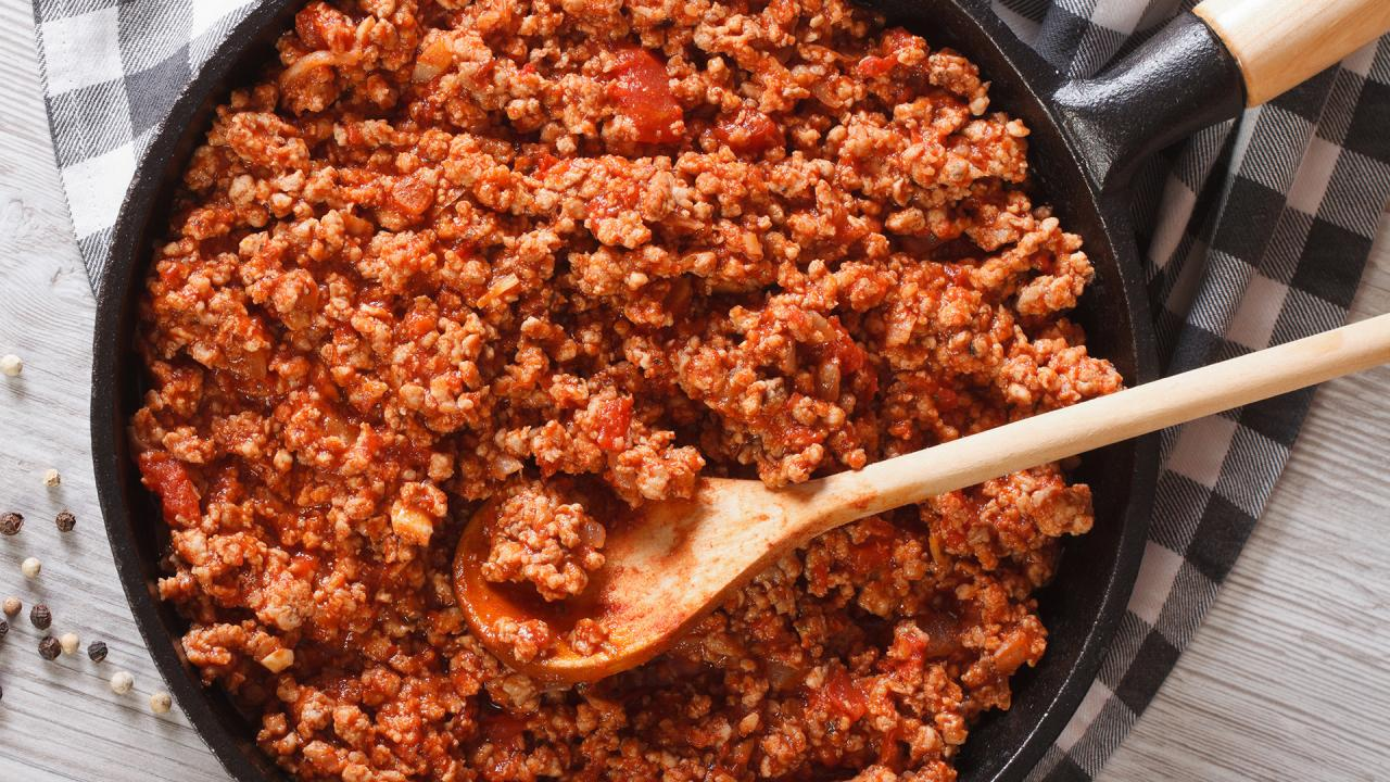 Easy Freezer Meal: Turkey Ragu