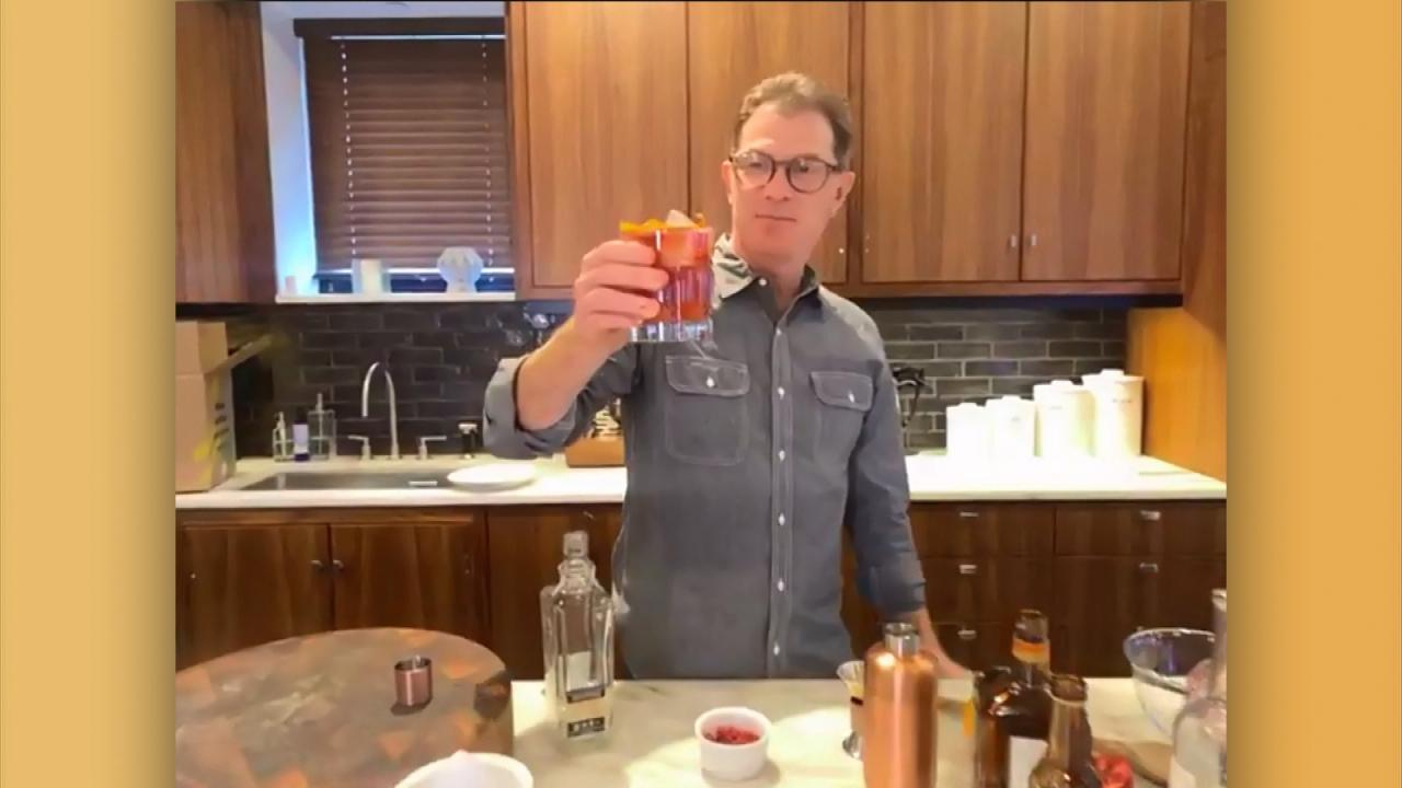 The Smoky Pomegranate Is Bobby Flay's Official Cocktail of 2020