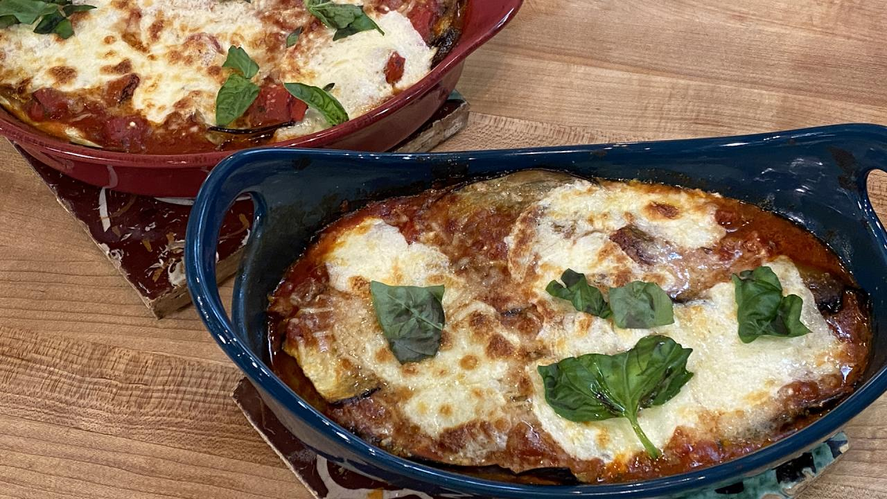 Italians Do It Better: Rach Makes The Real Deal Eggplant Parm