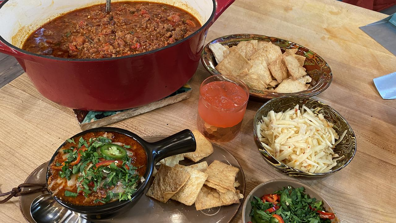 Enjoy Rach's Italian Chili With Red Beans On Its Own Or As Pasta Sauce