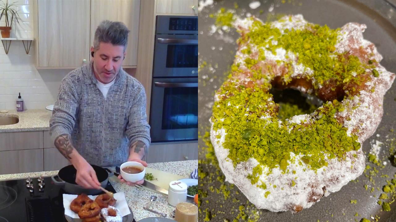 Take Your Taste Buds On a Trip With Orange-Infused Moroccan Donuts