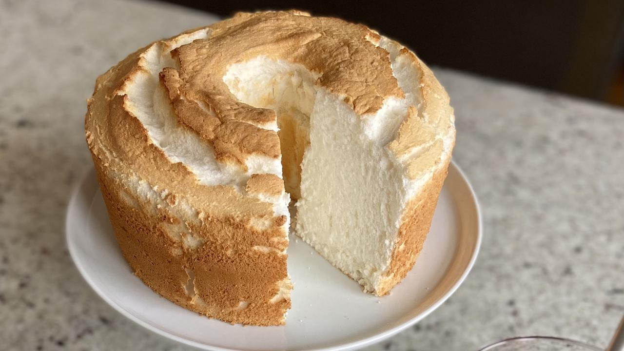 We've Perfected Classic Angel Food Cake (SO light + airy!)