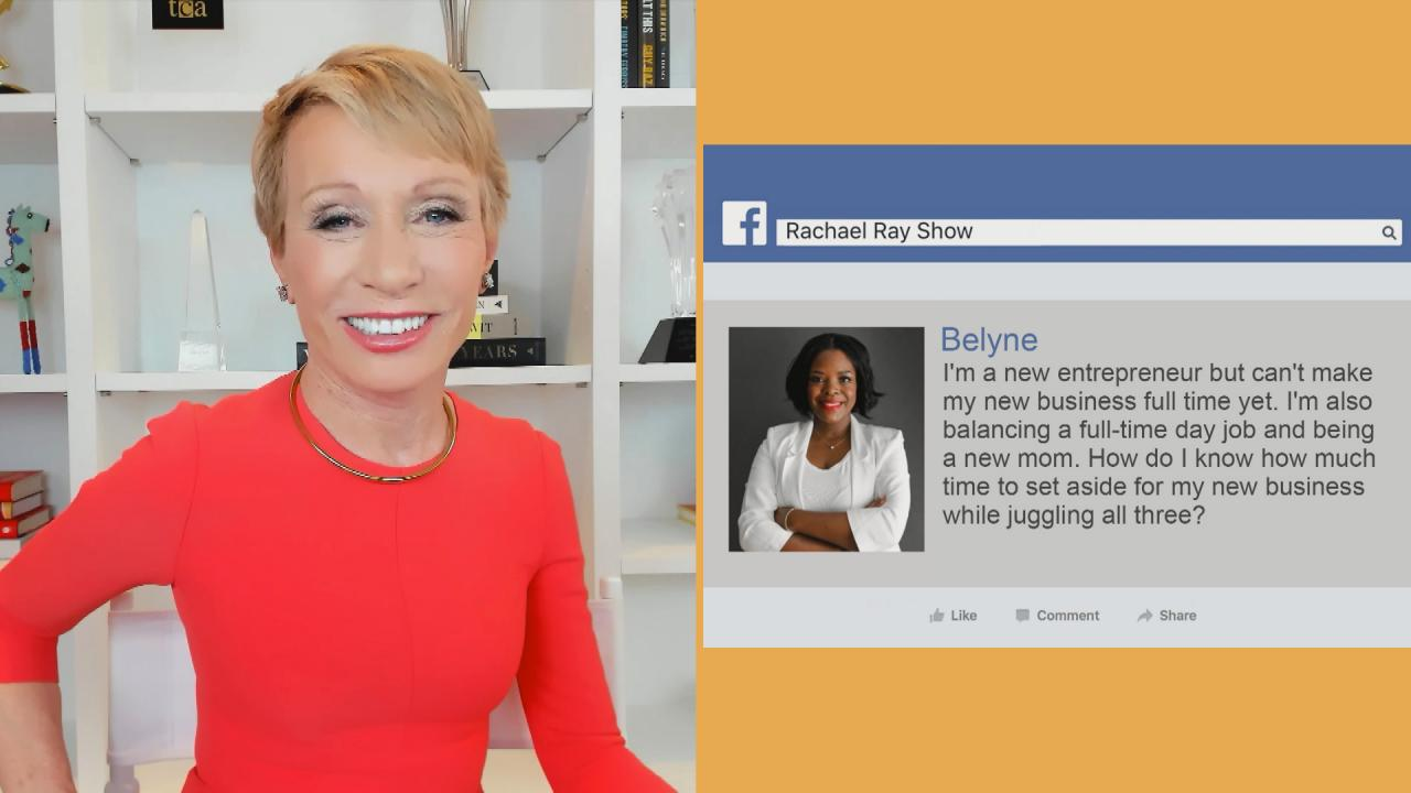 Advice For Aspiring Entrepreneurs Juggling Work + Family | Shark Tank's Barbara Corcoran