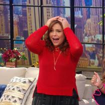 Rachael Ray and Mally Roncal