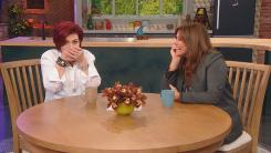 Sharon Osbourne and Rachael Ray Laughing