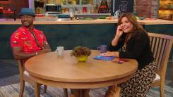 Taye Diggs and Rachael Ray