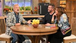 graham norton, jesse palmer and rachael ray