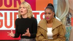 Sara Haines and Keke Palmer