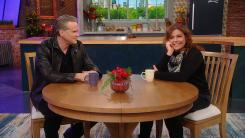 Cary Elwes and Rachael Ray