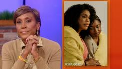 Robin Roberts and Lifetime movie cast photo side-by-side