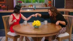 lucy hale and rachael ray