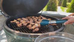 Whisky Wings On The Grill