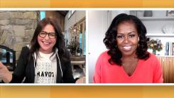 Rachael Ray and Michelle Obama