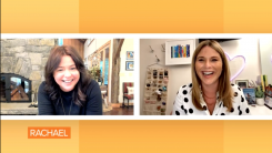 Rachael Ray and Jenna Bush Hager chat on The Rachael Ray Show