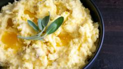 mashed potatoes with sage
