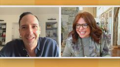 Tony Hale and Rachael Ray