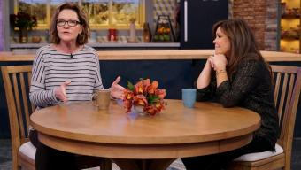 Joan Allen and Rachael Ray