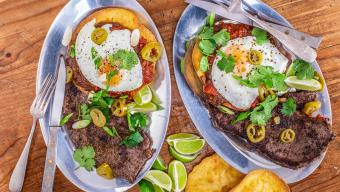 Steak And Eggs Rancheros