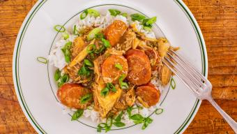 Emeril Lagasse's Chicken and Andouille Gumbo
