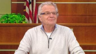"Jerry Springer ruling as ""Judge Jerry."""
