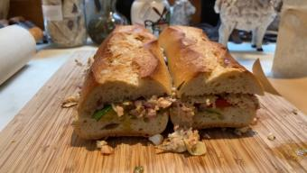 French-Style Tuna Sandwiches (Pan Bagnat)