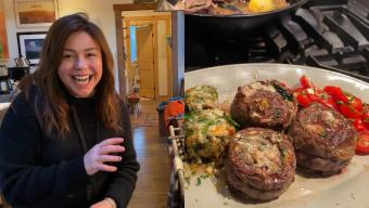 Pinwheel Steaks and Rachael Ray